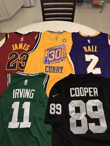 NFL and NBA Jerseys