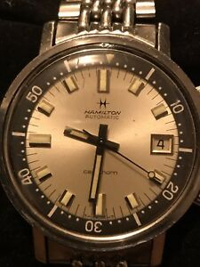 Hamilton Super Compressor Dive Watch, Vintage