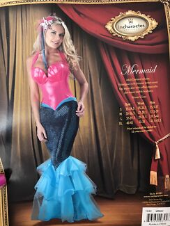 Mermaid Costume as New Size L