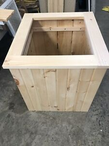 Pine and cedar planters and benches for Sale