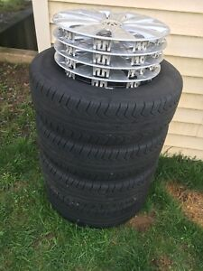 Great Condition Pirelli P4 Tires & Rims