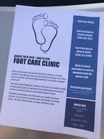 Foot Care Clinic - SUSSEX