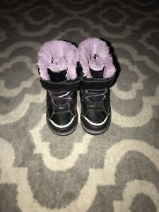 Toddler Girl Size 6 Snow Boots