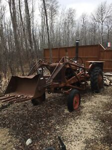 1938 Allis Chalmers WD tractor
