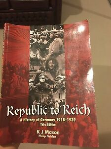 Republic to Reich:History of Germany******1939 Wanneroo Wanneroo Area Preview