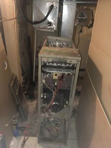Removed furnace parts for sale