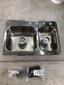Wesson Stainless Steel sink and a half.