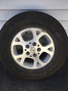 I have a 16 inch rim and tire for sale