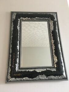 Mirror and Decorative Plate