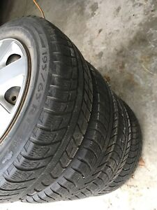 Set of 4 Michelin Winter Tires