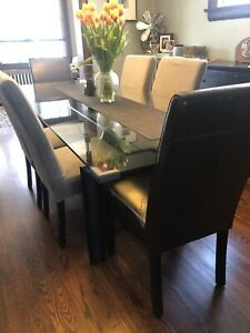 Dining room Parson Chairs set of 6