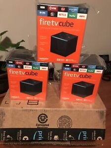 Amazon Fire Cube loaded with kodi and lots of APK