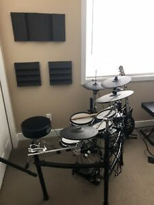 Roland TD 9 kit with upgrades