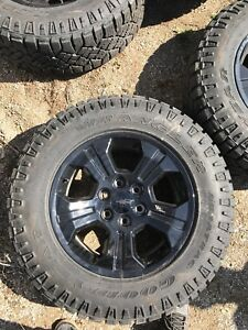 265/65r18 Goodyear tires on Chevy rims