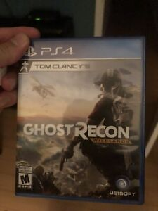 Ghost Recon Wild Lands PS4 looking to trade or sell for 45$