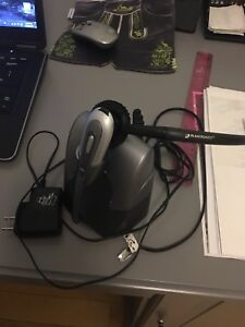 Plantronics Wireless Headset with Base/Charger