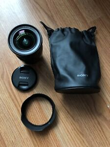 Sony Zeiss 16-35mm F4 lens