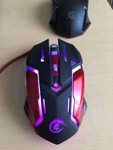 Gaming mouse used once