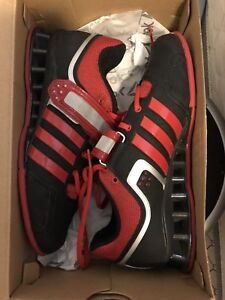 Brand New Adidas Mens Powerlifting/Weightlifting Shoes, Size 7.5