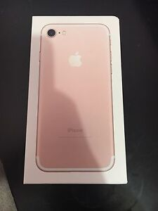 iPhone 7 32gb rose gold Paralowie Salisbury Area Preview