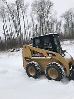 Skid Steer + operator for hire- snow removal