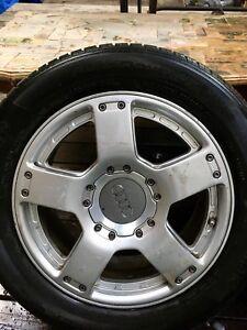 Mags et pneus pour Audi d original