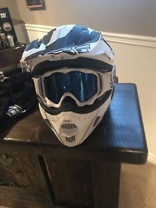 BRAND NEW FLY RACING HELMET AND 509 GOGGLES