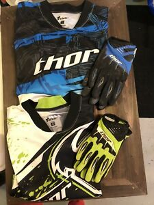 Thor riding shirts and gloves