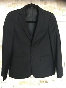 Newberry Black Suit Jacket and White Dress Shirt