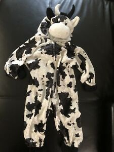 >>>TODDLER HALLOWEEN COSTUME - Cutest Cow Ever !! <<<