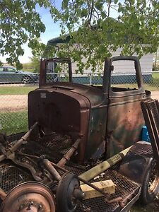 1935 Chevy truck cab
