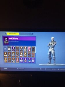 Selling Skull Trooper Account With Reaper Pick Axe