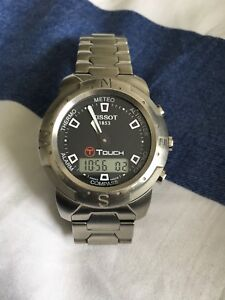 Tissot t T touch watch