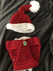Photography- Baby Santa claus costume