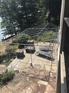Canopy Cover for a deck, boat dock, or car