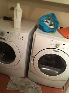 Set of Maytag washer and dryer machines