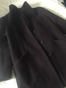 Aritzia Wilfred Cocoon Coat - Size Small