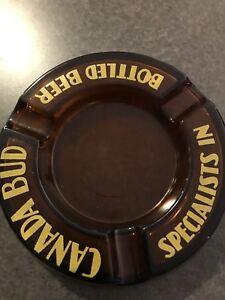 Canada Bud Ashtray Beer Ashtray Ale Ashtray Beer Tray Ale Tray
