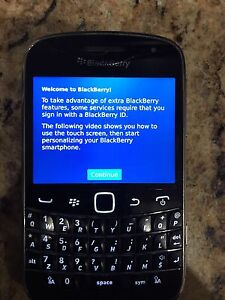 Blackberry Bold Touchscreen Cell Phone