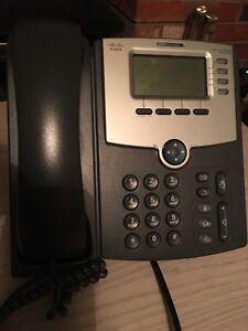 Cisco business phone . Very good condition. I have 5 left.