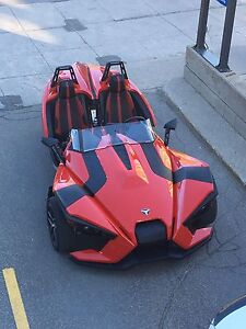 2016.5 Polaris slingshot SL with 2 years warranty