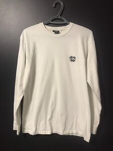 Stussy Long Sleeve White with Dice