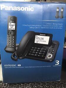 Téléphone sans fil 3 combinés