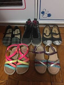 girls shoes and sandals size 9 & 10