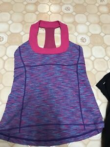 Lululemon scoop neck tank - size 8