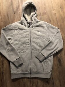 North Face Sherpa Zip up