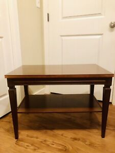 Mid Century Coffee/Side Table with Shelf