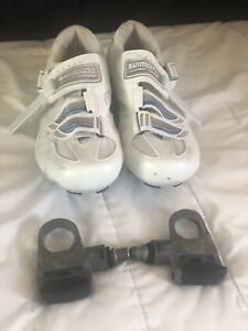 Shimano shoes and peddles