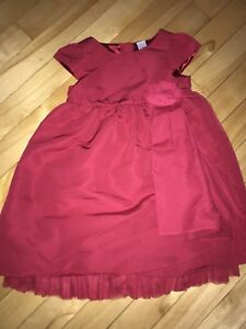 Size 3 baby gap red dress
