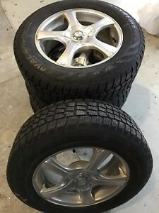 225 65 R17 Mercedes Benz Winter Tires and Rims